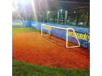 Casual football games in Manchester available to join through Footy Addicts. 5-7-9-a-side games!