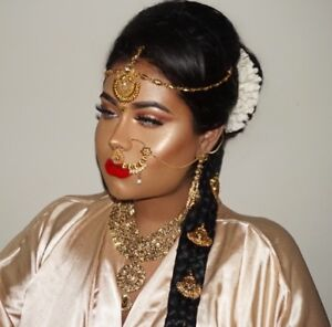 BRIDAL MAKEUP & HAIR - South Asian (Tamil, Indian, Pakistani)