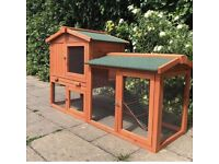 Rabbit hutches and bunnies