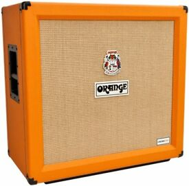 Orange Crush PRO 4x12 Cabinet AND Orange Crush CR120 Amp Head [Immaculate]