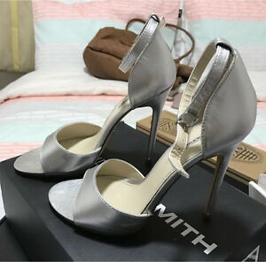 Windsor Smith silver heels Chelsea Heights Kingston Area Preview