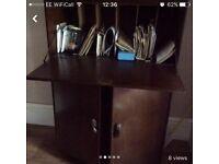Bureau desk with key