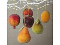 GISELA GRAHAM Christmas Fruits Decorations