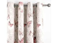 Curtains and bedding set
