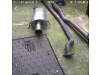 Z20let Corsa exhaust system
