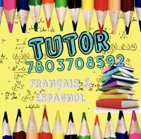 tutor FRENCH, SPANISH