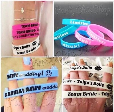Personalized Wristbands (Personalized Custom Silicone imprint Logo Wristbands Promotinal Gifts &)