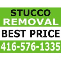 STUCCO REMOVAL SERVICES in GTA