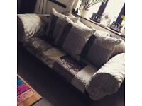 Gorgeous 3 seater Patchwork sofa