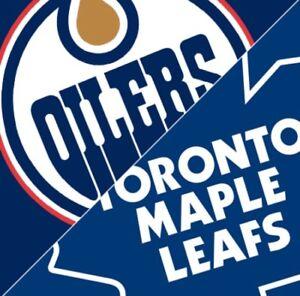 Leafs vs. Oilers Nov 30th