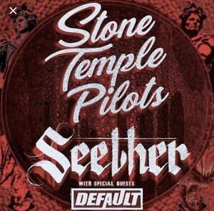 Stone Temple Pilots/Seether Tickets Selling at cost!