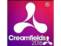 Creamfields 3 Day Weekend Standard Ticket