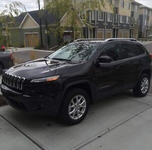 2014 Jeep Cherokee Black SUV, Crossover