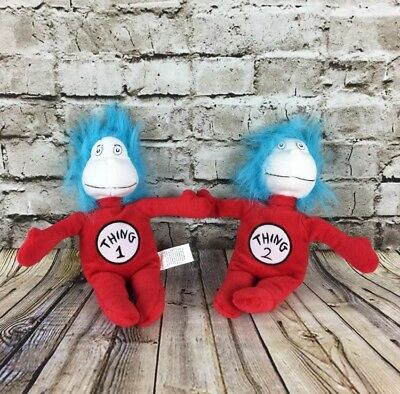 Dr Seuss The Cat In The Hat Thing 1 & Thing 2 Kohls Cares 10