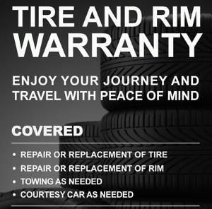 Tire & Rim Warranty now available in Montreal!