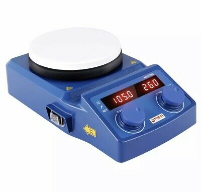 5 Inch Led Digital Hotplate Magnetic Stirrer Ceramic Coated Plate 50-1500 Rpm 5