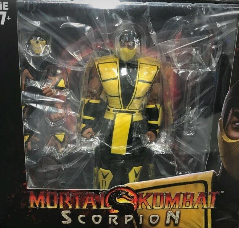 Storm Collectibles 1/12 Scale Mortal Kombat Scorpion SDCC Ac