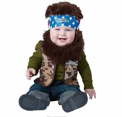 In Character Duck Dynasty Willie Infant Baby Halloween Costume, 18-24 Months