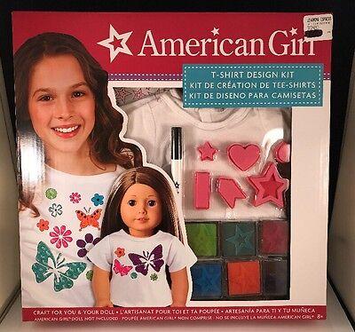 American Girl Stamping T-Shirt Design Kit New Doll & Child Kit - T-shirt Stamping Kit