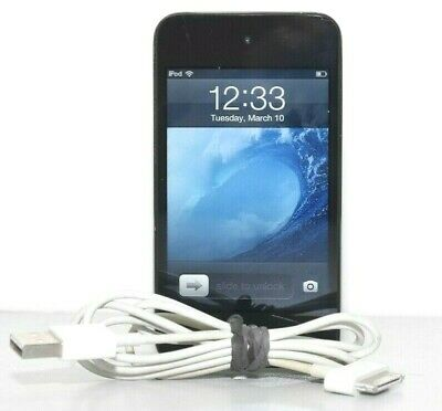 Apple iPod Touch 4th Generation Black 8GB A1367 MC540LL/A
