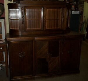 #greenspotantiques antique german cupboard, oak with carvings an