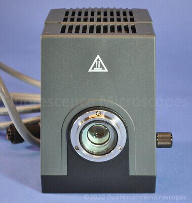 Zeiss Hbo 100 Fluorescence Microscope Illuminator Auto Alignment Lamp Housing
