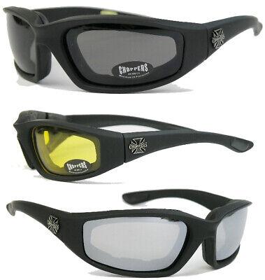 Choppers Sonnenbrille Motorradbrille Bikerbrille West Coast Iron Cross  FO
