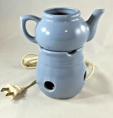 Electric Tart Warmer/Burner With Bulb Teapot Shaped