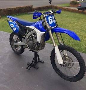 YZ450F 2012 Berkeley Vale Wyong Area Preview