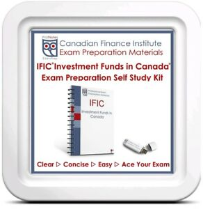IFIC Investment Funds Institute Canada Course 2019 Exam Prep Tex