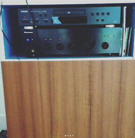 Vinyl records cabinet
