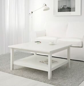 Hemnes white stain coffee table - NEW IN SEALED BOX