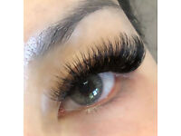 Eyelash extensions and LVL lash lift