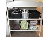 Mothercare baby changing table