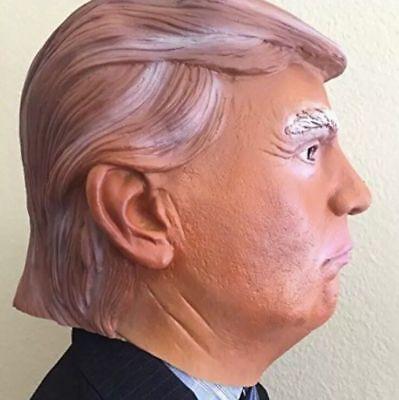 Donald Trump Halloween Mask Billionaire Presidential  Full Head Costume - Presidential Masks Halloween