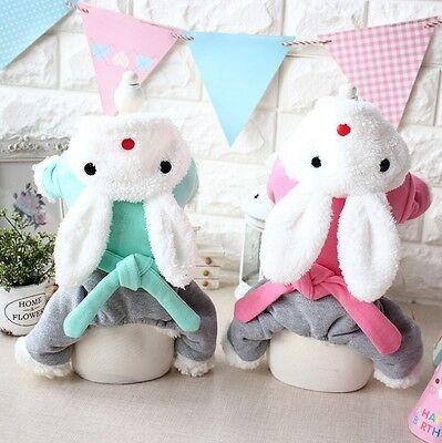 Haustier Hund Oder Katze Ostern Bunny Rabbit W / Hose Kostüm Kleid Outfit XS-XL