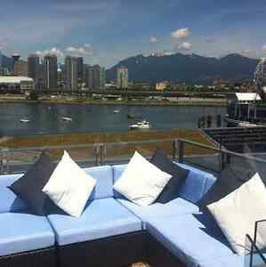 True Olympic Village Furnished 2bed PENTHOUSE for rent