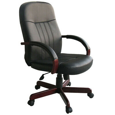 Conference Chairs Leather Office Chairs W Mahogany Wood Conference Room New
