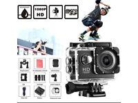 *Brand New* Mini Waterproof Sports Camera 1080p HD Multiple Recording Settings