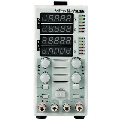 Dual Channel Lcd Dc Load Electronic Load Instrument Testerkl284a