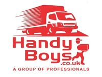 MAN AND VAN HIRE REMOVALS MOVING SERVICE LUTON VAN WITH A TAIL LIFT TRUCK RUBBISH DUMP CLEARANCE