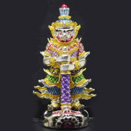 Magic Tao Wessuwan Amulet LP Mee Thai Lucky Wealth Success Protection Talisman