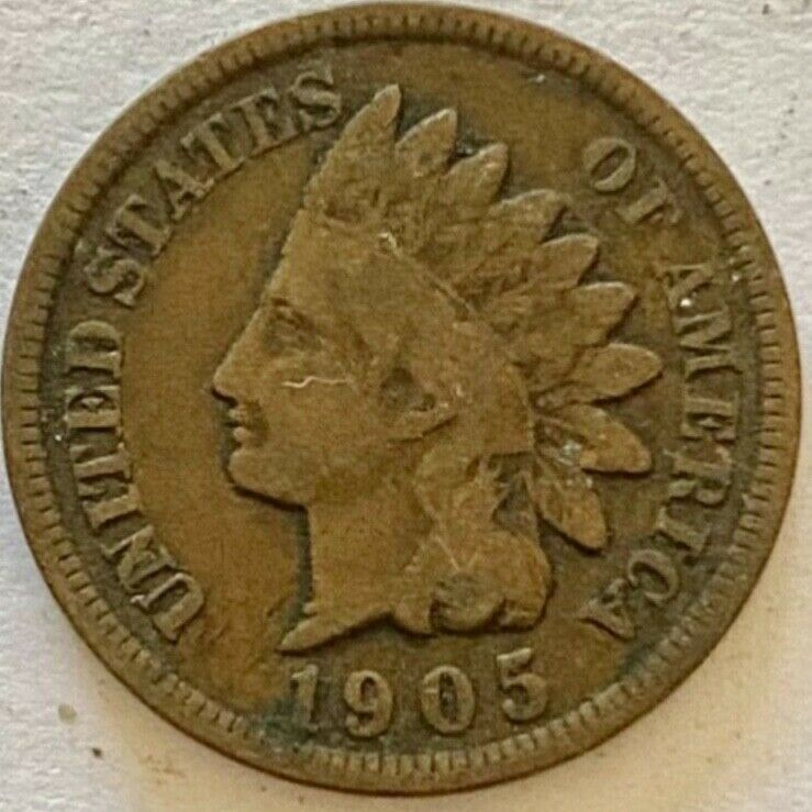 1905 Indian Head Penny - Good Or Better