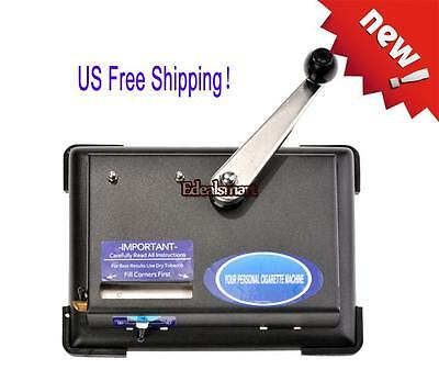 New Portable Cigarette Roller Rolling Making Box Tobacco Maker Injector Machine