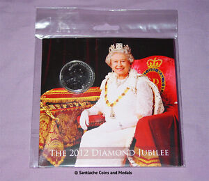 2012 ROYAL MINT DIAMOND JUBILEE BRILLIANT UNC SET COINS - Inc £5 Crown