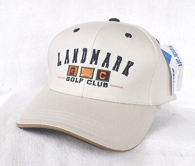 Landmark Golf Club  Oak Tree Structured Hat Cap  Imperial  Coolmax Oklahoma