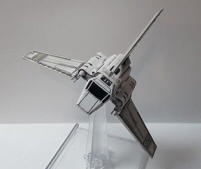 Star Wars X-Wing 2.0 Miniatures Game Magnetized Imperial Lambda Shuttle + Base