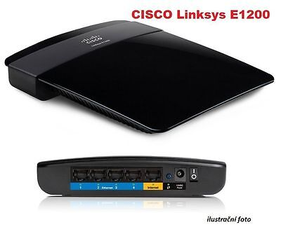 Refurbished Linksys Wi-Fi Router E1200 - 802.11n, 4xLAN - Free shipping