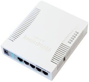 MIKROTIK-Routerboard-RB751U-2HnD-5xPORT-LAN-ROUTER-RB-751U-2HnD