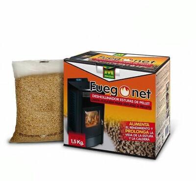 DESHOLLINADOR pellets para caldera y estufas de pellets